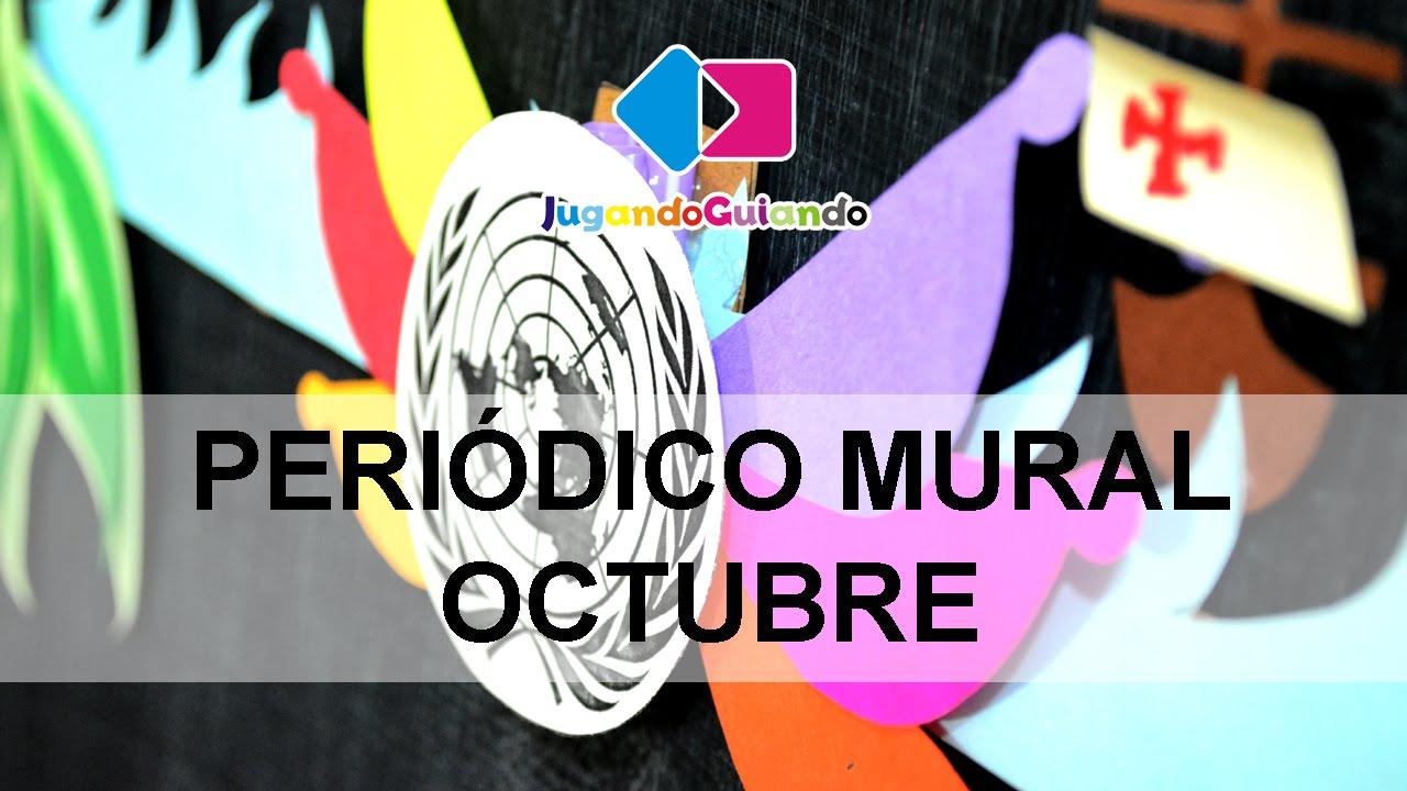Jugando guiando peri dico mural youtube for Editorial periodico mural