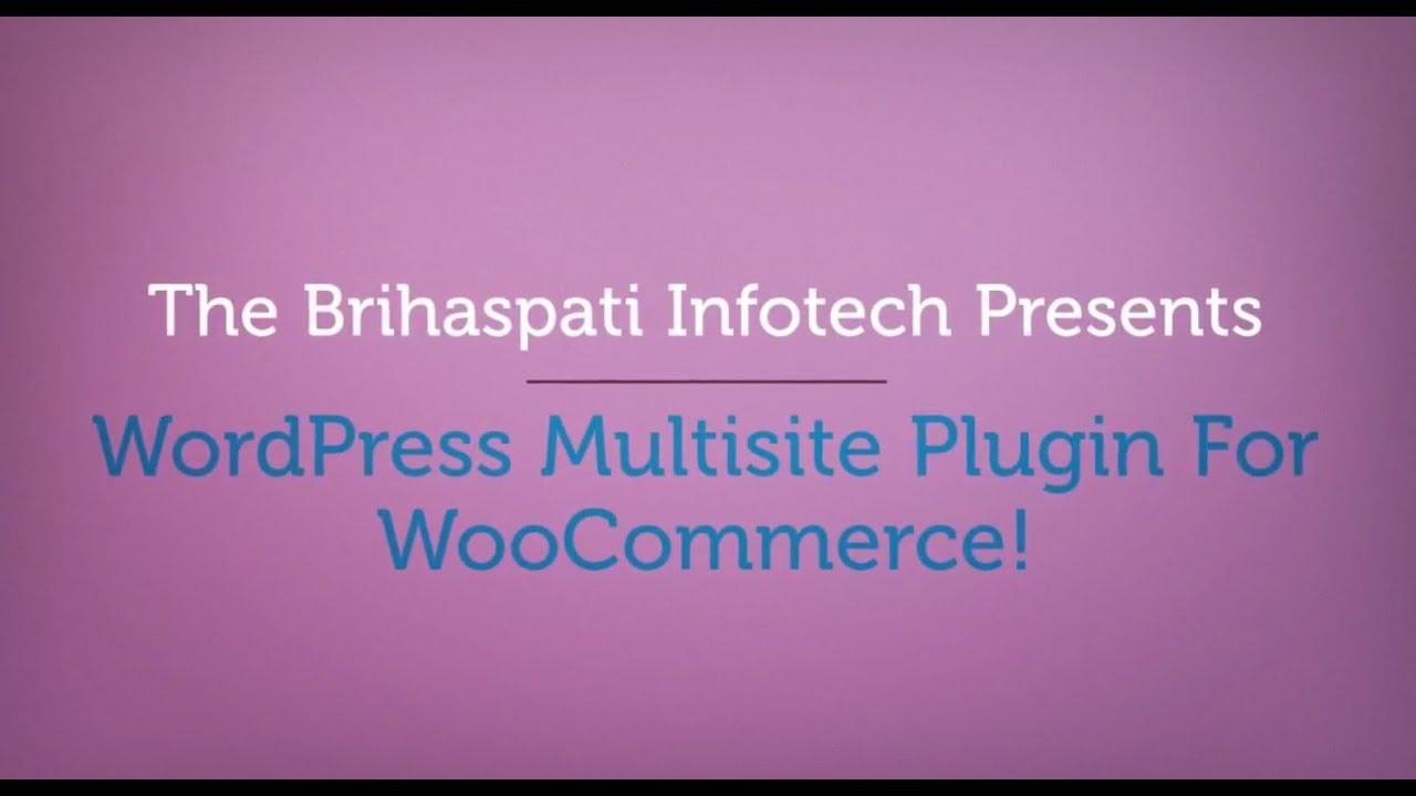 Wordpress Multisite Plugin | Woocommerce multisite