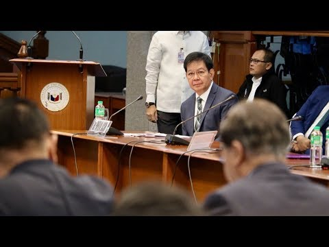 Senate Blue Ribbon hearing on BOC corruption [Part 2], Sept. 19, 2017