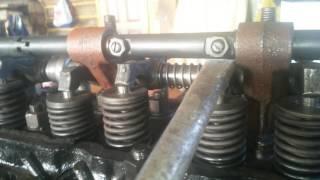 Д-65.регулювання клапанів Юмз-6