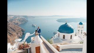 Свадебное видео в Греции на Санторини, Видеосъемка, Видеограф на Санторини, Свадьба в Греции