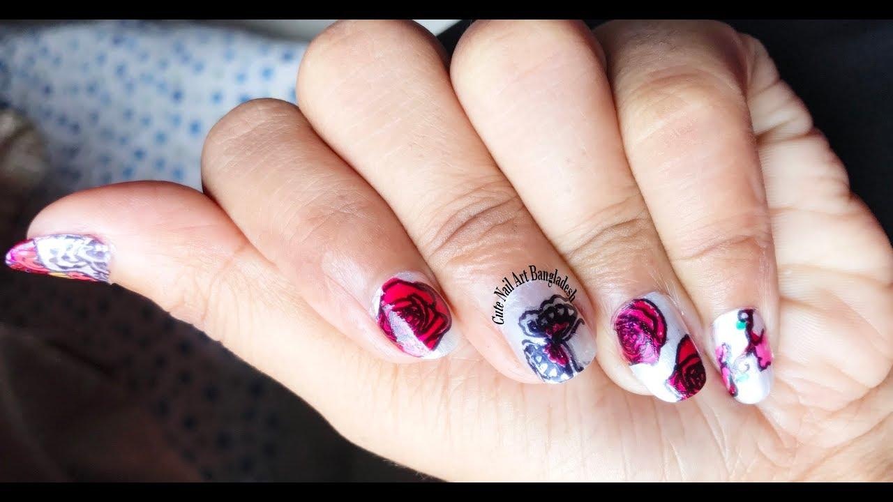 Nail art 11 cici sisi flower 01acrylic stamping plate nail art 11 cici sisi flower 01acrylic stamping plate tutorial layered stamping plate 2018 izmirmasajfo