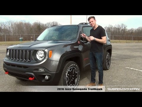 Review: 2016 Jeep Renegade Trailhawk