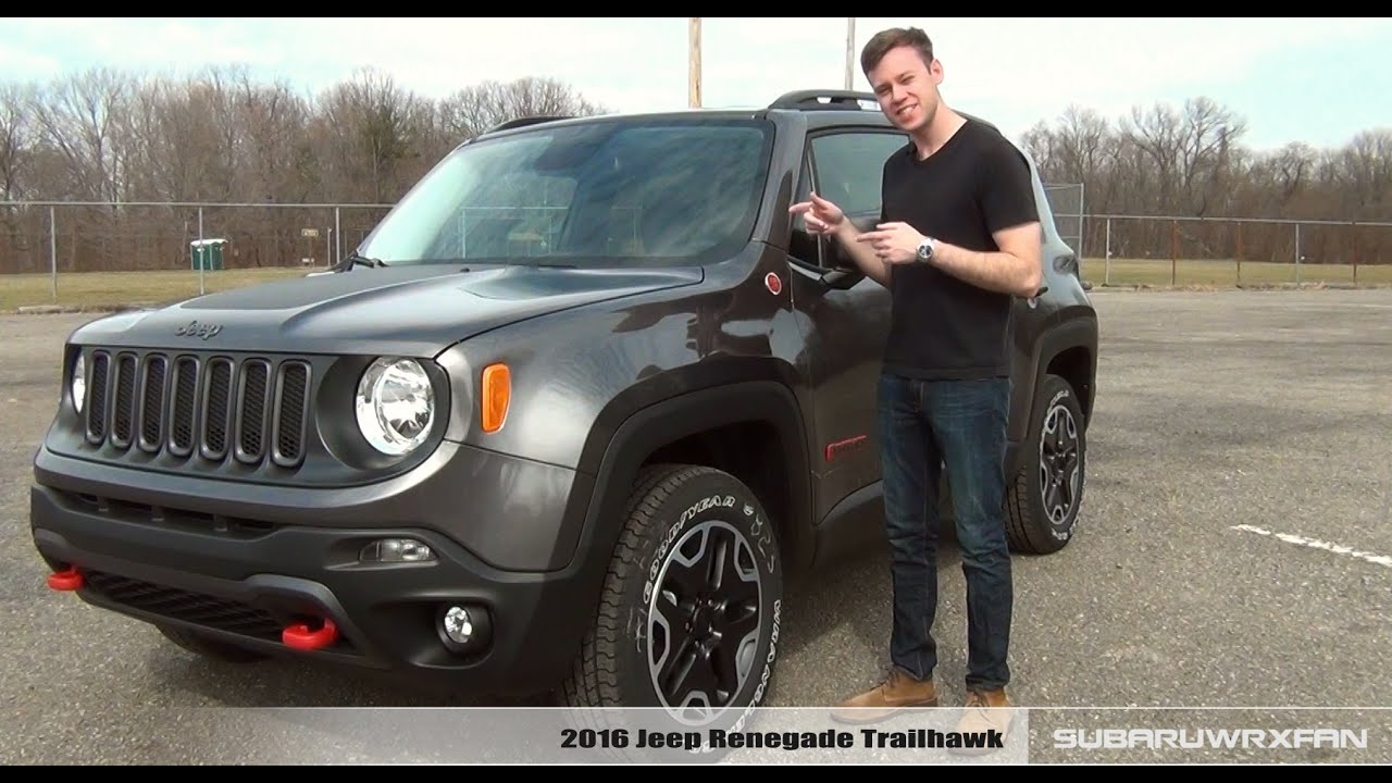 review 2016 jeep renegade trailhawk doovi. Black Bedroom Furniture Sets. Home Design Ideas
