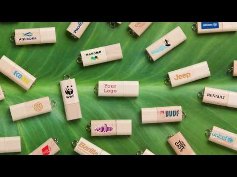 The Nature Wooden USB Flash Drive
