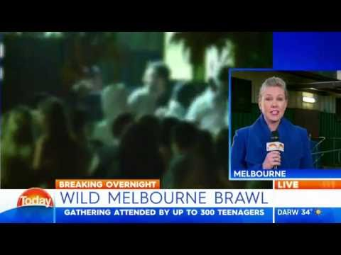 Teenager arrested after birthday party brawl in Melbourne's east