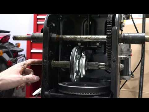 Power Smart DB7659A Friction Wheel Assembly Repair