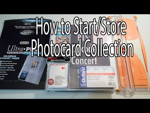 How to Start/Store Photocard Collection