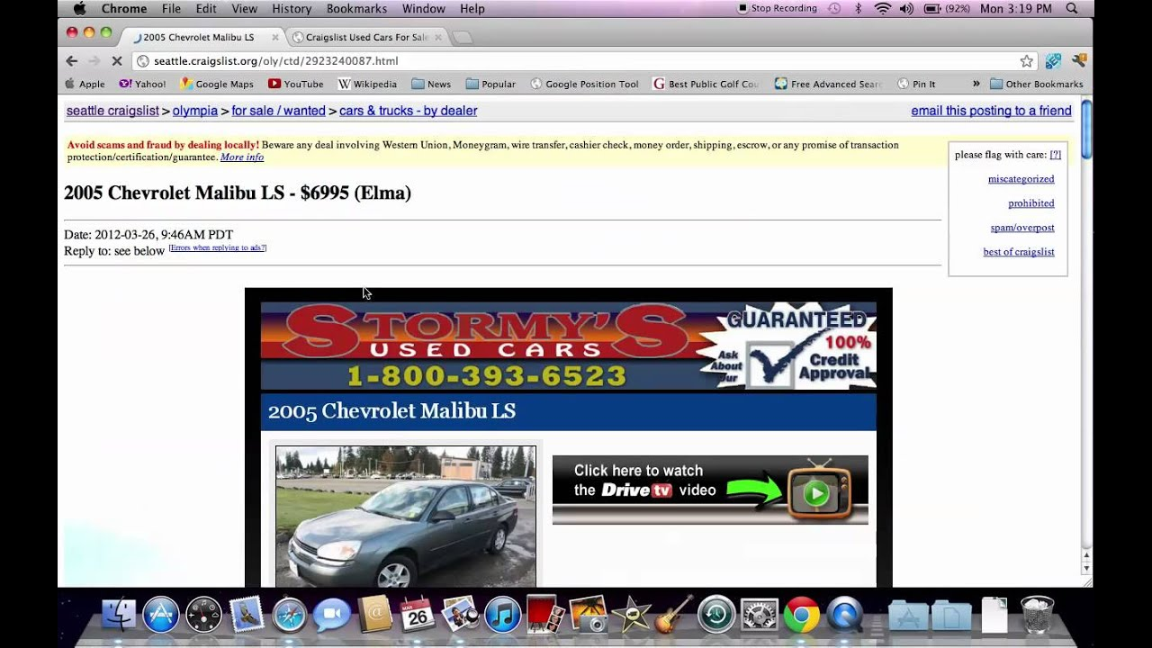 Craigslist Seattle Used Cars Washington Trucks Vans And Suvs
