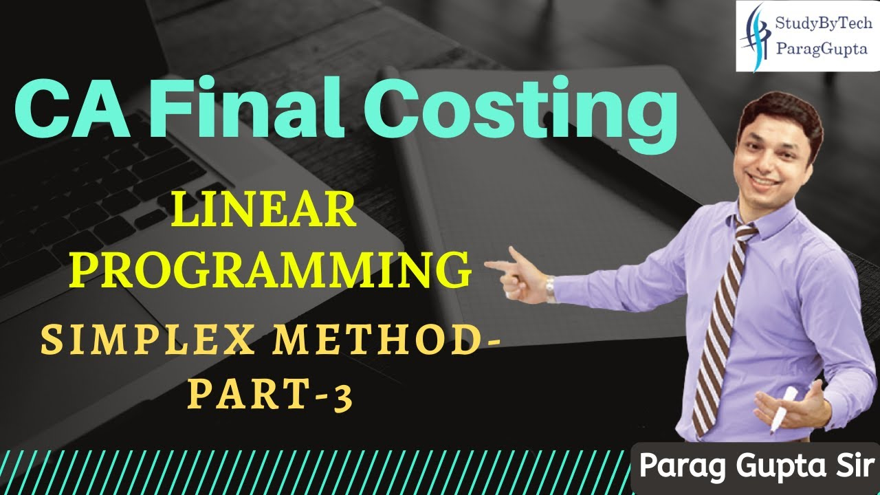 Chapter 6 linear programming: the simplex method section 3 the.