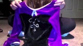 shannie gymnastics time first video leotard video