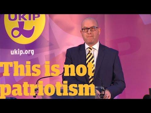 Ukip leader Paul Nuttall is unpatriotic: here's why | Owen Jones talks...