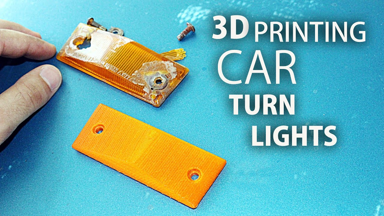 Making Car Parts with Anycubic i3 Mega 3D Printer