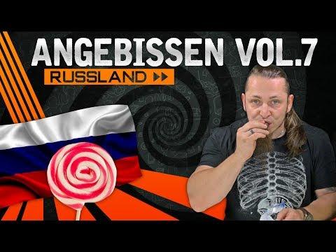 RUSSIAN CANDY CHALLENGE 🍭 Angebissen Vol.7 [German, Deutsch]