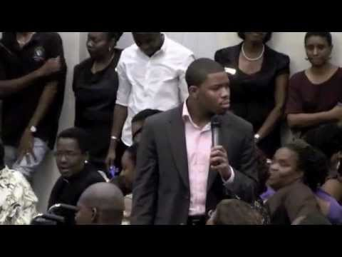 Prophet Brian Carn @ Power Plus 2010 - October 15 - Part One