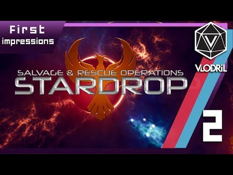 Salvage and Rescue - Stardrop First Impressions - Part 2 - Early Access - PC Gameplay - 1080p