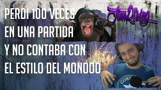 Partida vs Sortof Dije ya perdí mas de 20 veces Pero el estilo del mono Me salvo