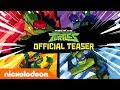 Rise of The Teenage Mutant Ninja Turtles!! 🐢 NEW Series Official Teaser | Nick