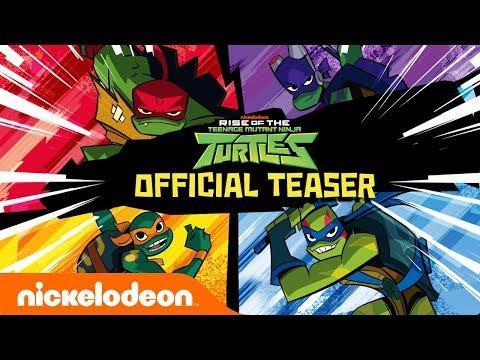 Rise of The Teenage Mutant Ninja Turtles!! 🐢 NEW Series Official Teaser   Nick