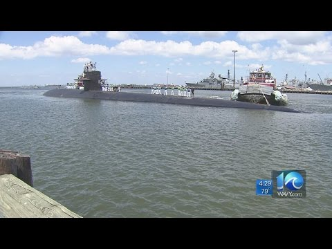 USS Norfolk returns from final deployment