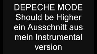 DEPECHE MODE - Live Shout be higher instrumental