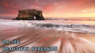 Create Long Exposure Streaks When Photographing Waves at the Ocean