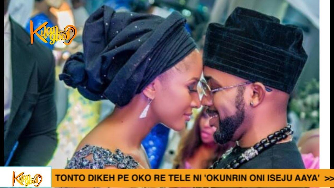 Download Banky W And Adesua Etomi Celebrate 1st Wedding Anniversary {Nigerian Entertainment}