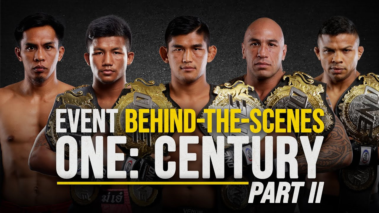 ONE: CENTURY PART II: Behind The Scenes With Aung La, Rodtang & More