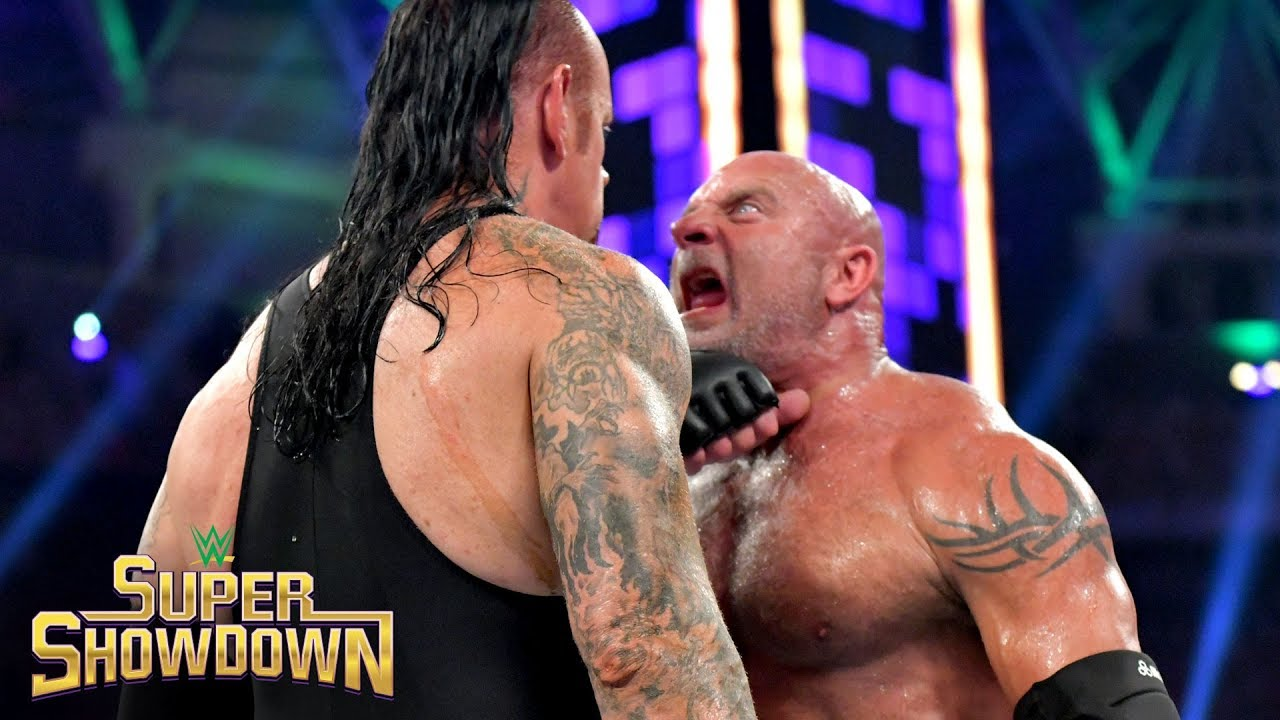 goldberg vs undertaker