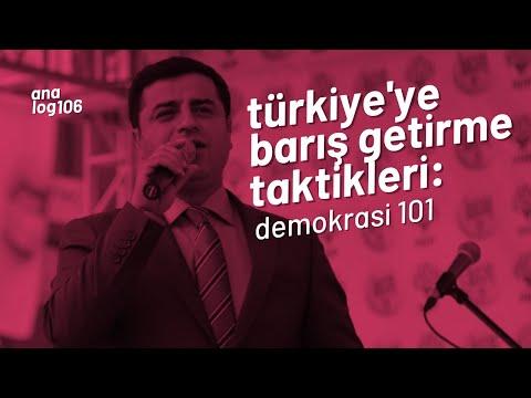 Demokrasi 101: Türkiye'ye Barış Getirme Taktikleri w/ Selo