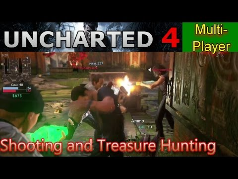 UNCHARTED 4 Multiplayer: Shooting and Treasure Hunting