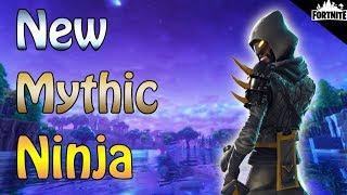 fortnite new mythic the cloaked star ninja perks and gameplay - fortnite cloaked star back bling