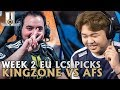 EU LCS Week 2 Picks, LCK Spring Finals Rematch: KZ vs AFS | 2018 Summer Split