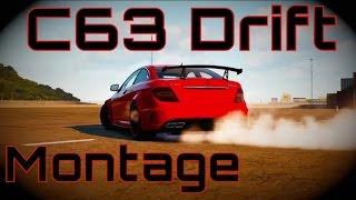 Forza Horizon 2 C63 Drift Montage