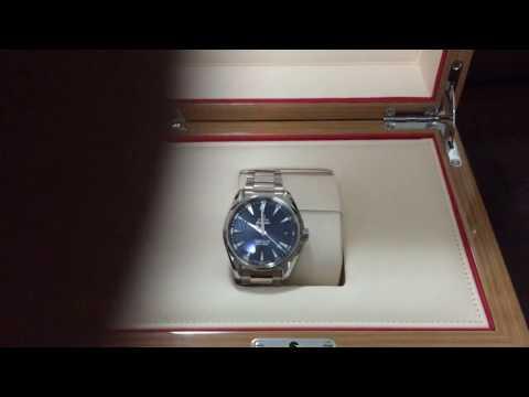 Omega Seamaster Aquaterra blue dial spectre