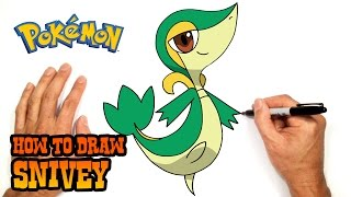 How to Draw Snivy | Pokemon