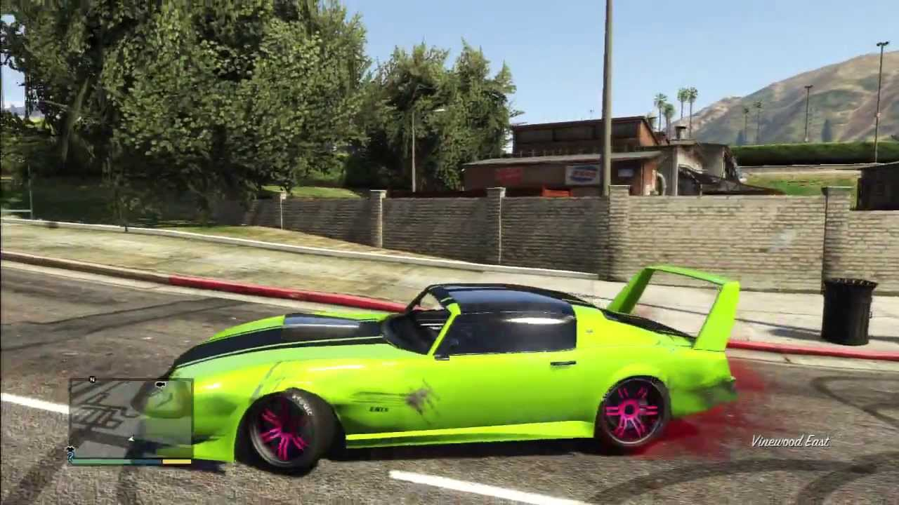 Gta Best Drift Car Youtube