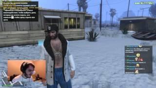 Мэддисон и Хованский - Новогодний Стрим GTA 5 и FIFA 15 #2