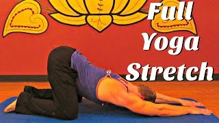 Day 3 - Full Yoga Deep Stretch Flow - 7 Day Flexibility Challenge #7dayflexibilitychallenge