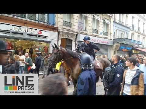 Fausse alerte d'attentat à Paris / Paris - France 17 septembre 2016