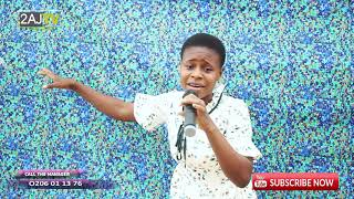 OBAAPA SALOMEY SHOWING HER GOD GIVING TALENT