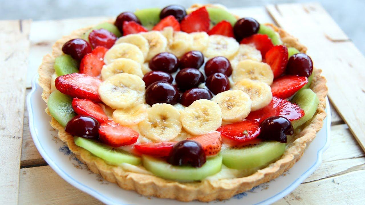 Nonna\'s Italian Fruit Tart Recipe - Laura Vitale - Laura in the ...