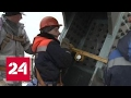 На Крымском мосту начали сборку 45-метровых арок