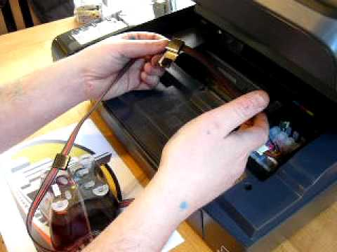 How To Change Ink Cartridges With A Epson Stylus Sx200 Doovi