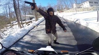 Download Bike Thieves, Angry People & Police Chase!!! Mp3 and Videos