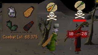 Testing my New 13 Def BABY Pure in PvP.....(#7)