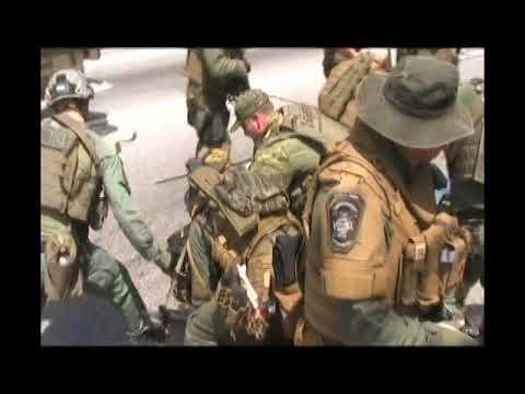 Police Violence at Newnan, GA Anti-Racist Protest