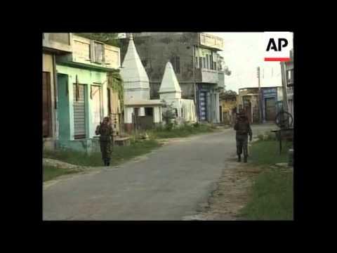 INDIA/PAKISTAN/KASHMIR: BORDER CONFLICT LATEST