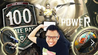 NEW UPDATE ROYALE PASS 17 MAX LEVEL 100 - PUBG MOBILE
