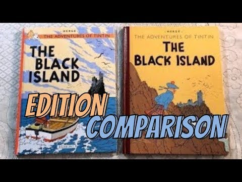 Tintin Edition Comparison: The Black Island 1943 vs The Black Island 1966 (Part 1 of 2)